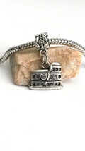 3D Love Rome Roman Italy Greece Colosseum Dangle Charm fits Euro Silver ... - $6.32