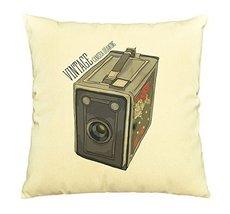 Vietsbay Vintage Camera-9 Printed Decorative Pillows Cover Cushion Case ... - €12,24 EUR