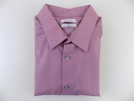 Calvin Klein Steel Men's Slim-Fit Non-Iron Performance Herringbone Dress Shirt - $32.66