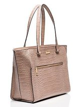Kate spade Parliament Square Large Exotic Brantley tote Rosey Beige - $246.05