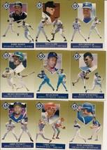 1991 Fleer Ultra Baseball Gold Insert Complete 10 Card Set.  Griffey, Jr... - $4.00