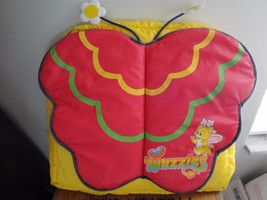 VTG 80s Wuzzles Backpack Child's Butterbear Yellow Rare Nylon Disney Car... - $49.99