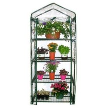 Greenhouse Mini Solar Patio Deck 4-Shelves for ... - $60.47