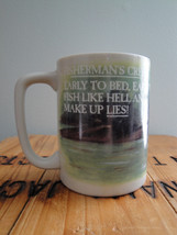 Otagiri Mug Fisherman's Creed Early to Bed Fish... - $24.99