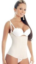 Ann Michell Semi Vest Latex Waist Cincher (38, Black) - $54.03