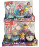FP Little People Disney Princess Time for Tea with Belle & Bath Time wit... - $69.99