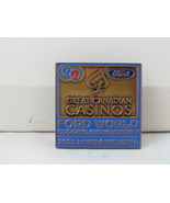 Retro Curling Pin - 2005 World Curling Championships 2005 Victoria BC - Pin - $15.00