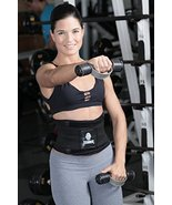 Tecnomed Belt Fitness Body Shaper (Black, Extra-Large) - $39.18