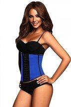 Ann Chery - Womens Plus 2023 3 Hook Deportiva Waist Cincher, Blue 38331-... - $51.92