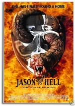 Friday the 13th, Jason Goes to Hell Movie Poster on Fridge Magnet #MV522 - $5.99