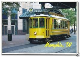 Memphis Tennessee Trolley - 2 x 3 Souvenir Photo Fridge Magnet MEM05 - $5.99