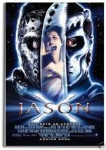 Friday the 13th, Part 10 Jason X Movie Poster on Fridge Magnet #MV521 - $5.99
