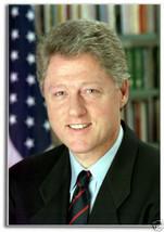 Bill Clinton - President - 2 x 3 Rectangle Fridge Magnet #MA115 - $5.99