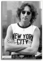 John Lennon, Beatles, New York City ~ 2 x 3 Souvenir Fridge Photo Magnet - $5.99