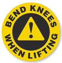 Bend Knees When Lifting Hard Hat Decal Hardhat ... - $1.79 - $69.00