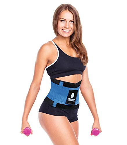 Primary image for Tecnomed Best Adjustable Waist Cincher Workout Belt Burns Fat Faster Plus Ins...