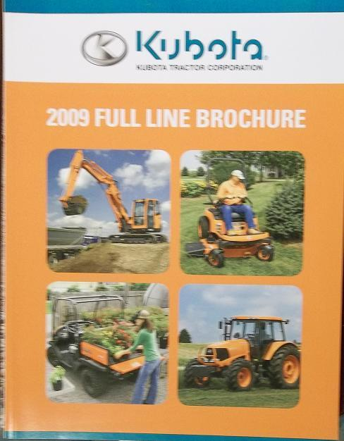 Primary image for 2009 Kubota Equipment Full Line Catalog