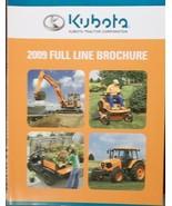 2009 Kubota Equipment Full Line Catalog - $8.00