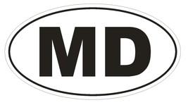 MD Maryland EURO OVAL Bumper Sticker or Helmet Sticker D466 Moldova Coun... - $1.39+