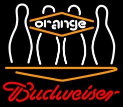 Budweiser Bowling Orange Neon Sign - $699.00