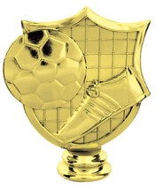 Soccer Shield Figure Game Sport Team Player Trophy Award LOW AS $2.99 ea... - £5.30 GBP+
