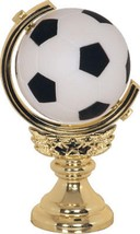 Spinning Soccer Trophy SPORT Award TEAM Game SCHOOL Low Shipping-#XT245 - $3.99