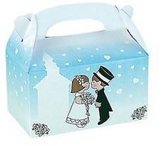 "Black 2/"" Square Favor Boxes Birthday WEDDING Treat #32613"