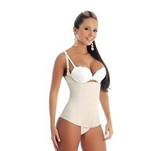Ann Michell Semi Vest Latex Waist Cincher (32, Beige) - $68.60