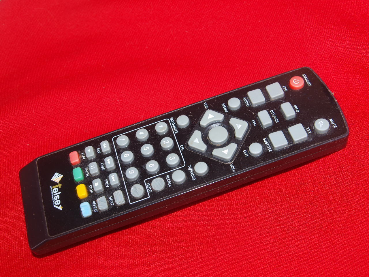 Primary image for Digital TELSEY DVB-T HD receiver original remote control