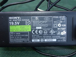 OEM 19.5V Adapter Power Supply Sony Vaio PCGA-AC19V1 VGP-AC19V43 VGP-AC1... - $32.65