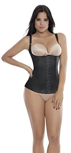 Primary image for Ann Michell Semi Vest Latex Waist Cincher (42, Black)