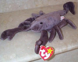 Beanie Babies Baby Ty Stinger the Scorpion 1997 Retired Collectible - $4.90
