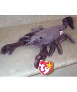 Beanie Babies Baby Ty Stinger the Scorpion 1997 Retired Collectible - $3.50