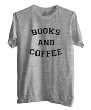 Books And Coffee Men Tee S   3 Xl Sport Grey - $18.00
