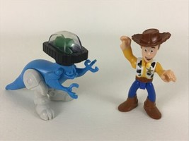Toy Story Imaginext Figures Sheriff Woody Dinosaur Spaceship Rex Fisher ... - $19.75