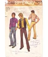 1972 MEN'S WESTERN SHIRT, VEST & PANTS Pattern ... - $7.99