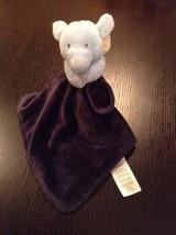 Carters light blue & Navy Elephant baby Securit... - $29.65