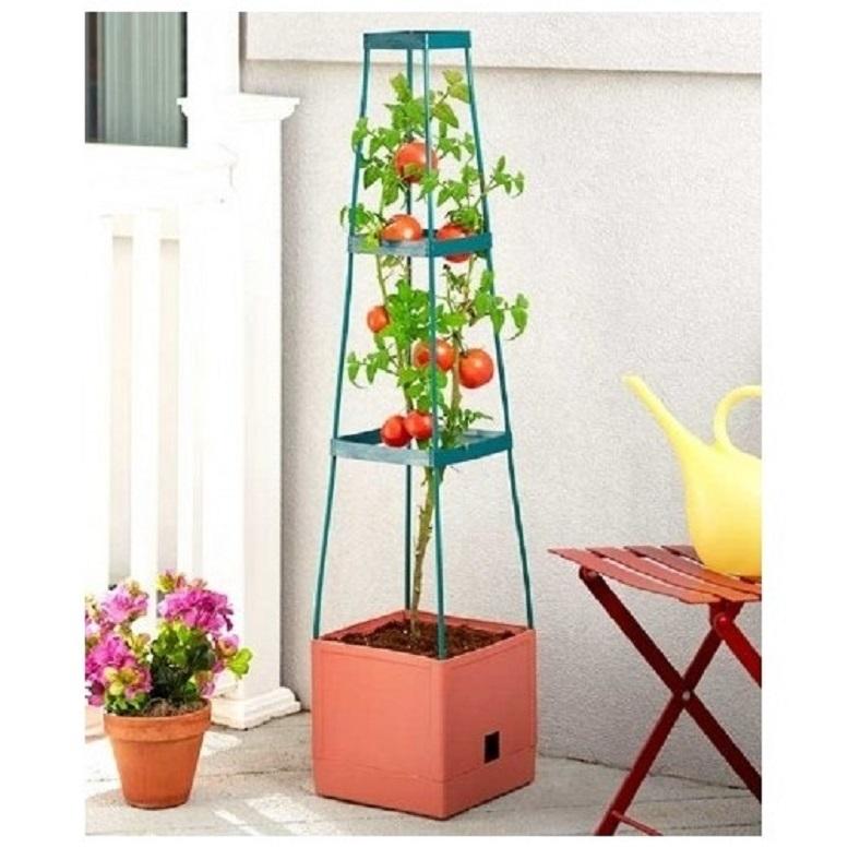 Tomato planter grow tower