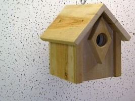 Wood-In-Things.com Bluebird house,thick entrance,Cedar,Clean-out.Hanging - $35.99