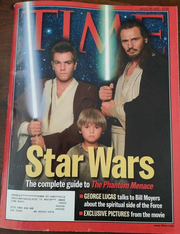 Primary image for STAR WARS, Complete Guide to Phantom Menace - TIME Magazine April 26, 1999