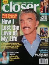Burt Reyonolds, Maureen O'hara, Katharine Hepburn Closer Weekly Magz Nov 2015 - $5.95
