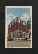 Vintage Postcard Hickory NC Linen Hotel Hickory North Carolina Unused - $7.99