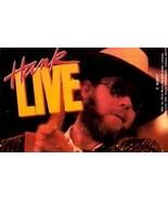 HANK WILLIAMS JR. - Hank 'Live' CASSETTE  - $7.99
