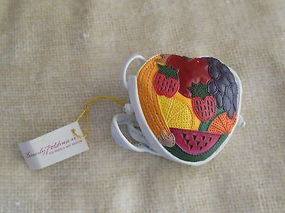 Primary image for Beverly Feldman Miniature Fruity Purse Collectable Raine & Willitts Designs