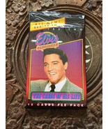 Elvis Presley Collectors Cards In Suit 12 Cards Per Pack Never Open - $5.52