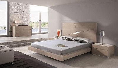 J&M Chic Modern Evora Premium 5pc King Size Bedroom Set