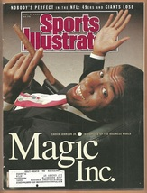 1990 Sports Illustrated Los Angeles Lakers Rams New York Rangers Philly ... - $2.50