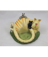 Cat Candle Holder Crazy Mountain 2002 Unused - £4.58 GBP