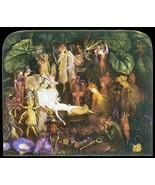 Vintage Reproduction Print Fairy Garden 11x17 The Fairys Funeral 1864 - $27.79