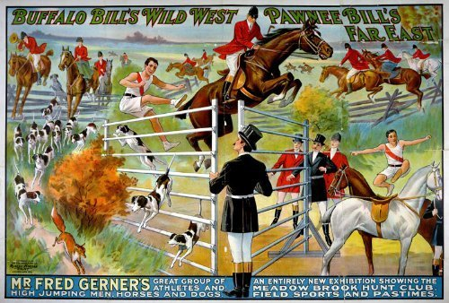 Primary image for Vintage Reproduction Print Pawnee Circus